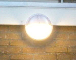 Nieuwe brandganglamp